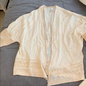 American eagle embroidered cover up